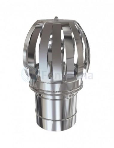 Sombrerete Giratorio Inox D-P 304 - Ø 80/150mm - Practic