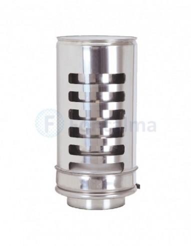 Remate Antilluvia Inox D-P 304 - Ø 175/250mm - Practic