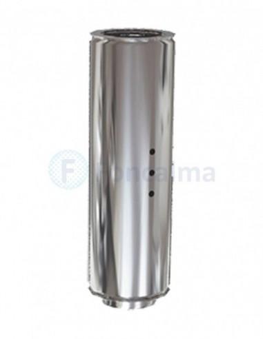 Tramo Comprobación Inox D-P 304 - Ø 200/500mm - Practic