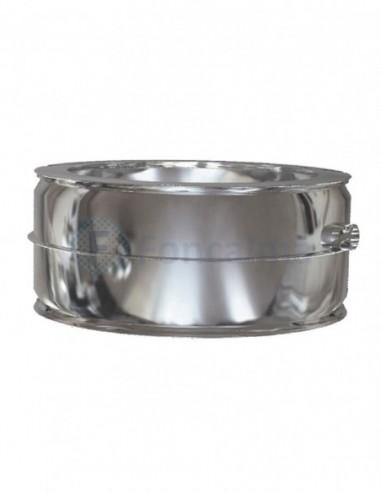 Tramo Recoge-Condensados Inox D-P 304 - Ø 350/400mm - Practic