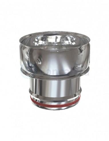 Adaptador Inox PS-DP D-P 304 - Ø 100/150mm - Practic