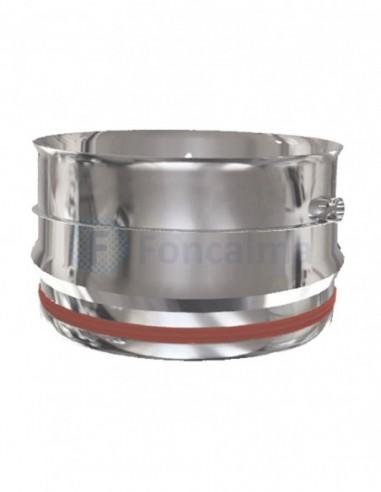 Tramo Recoge-Condensados Inox S-P 316L - Ø 100mm - Practic