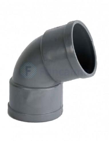 Codo PVC HH 67º - 40mm - Ibide