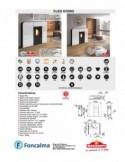 Conjunto Elia inodoro S/horizontal + Tanque Simple pulsador A/Superior + Asiento fijo PP