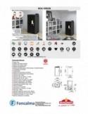 Conjunto Emma Square Inodoro BTW S/Dual + Tanque Bajo D/Pulsador A/Inferior IZQ + Asiento Fijo