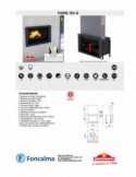 Caldera Pellet Hydroconfort 27 kW Negro