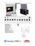 Estufa Pellet Free sin Electricidad 6 kW