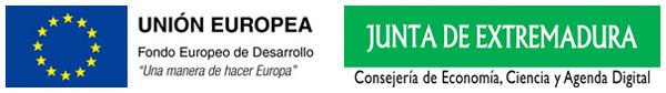 Imagen fondo FEDER y  Junta de Extremadura